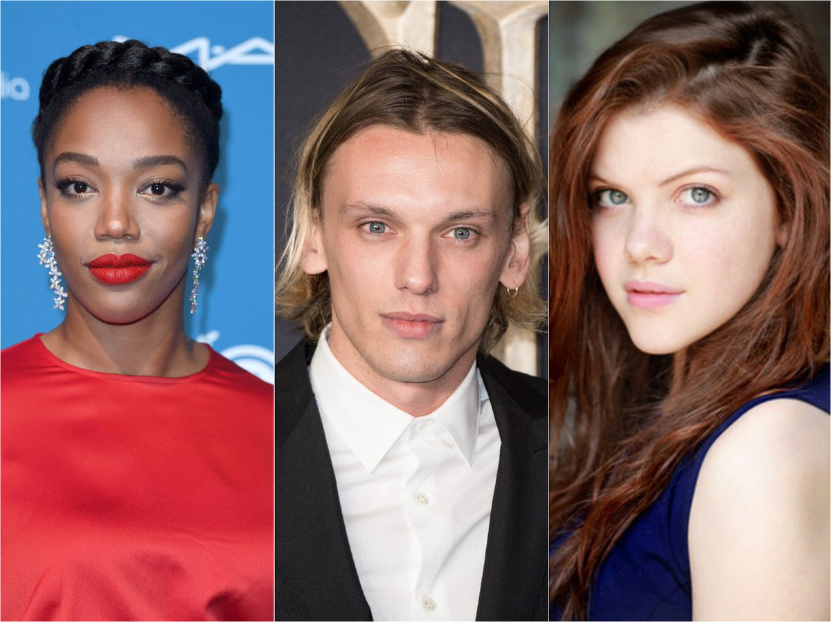 528b21e579 naomi ackie jamie campbell bower and georgie henley are just three of the  new cast for