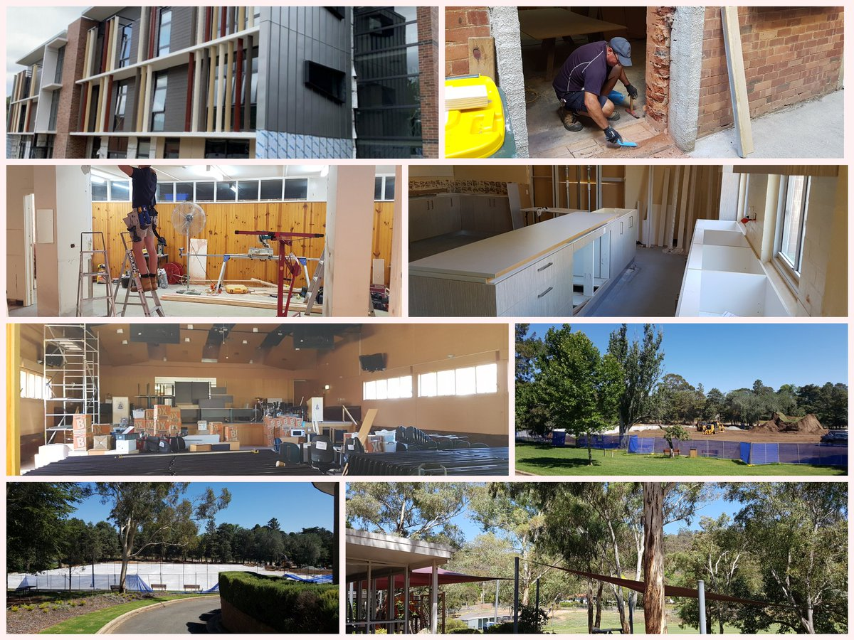 Refurbishing, refreshing & renovating! School's out but the work doesn't stop. New boarding house, sporting facilities & locker rooms; upgrades to learning spaces & facilities happening throughout the summer break.