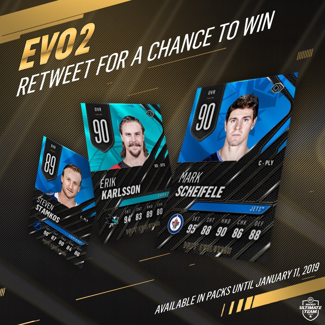 RETWEET for a chance to win some EPIC EVO2 items for your team! 😏