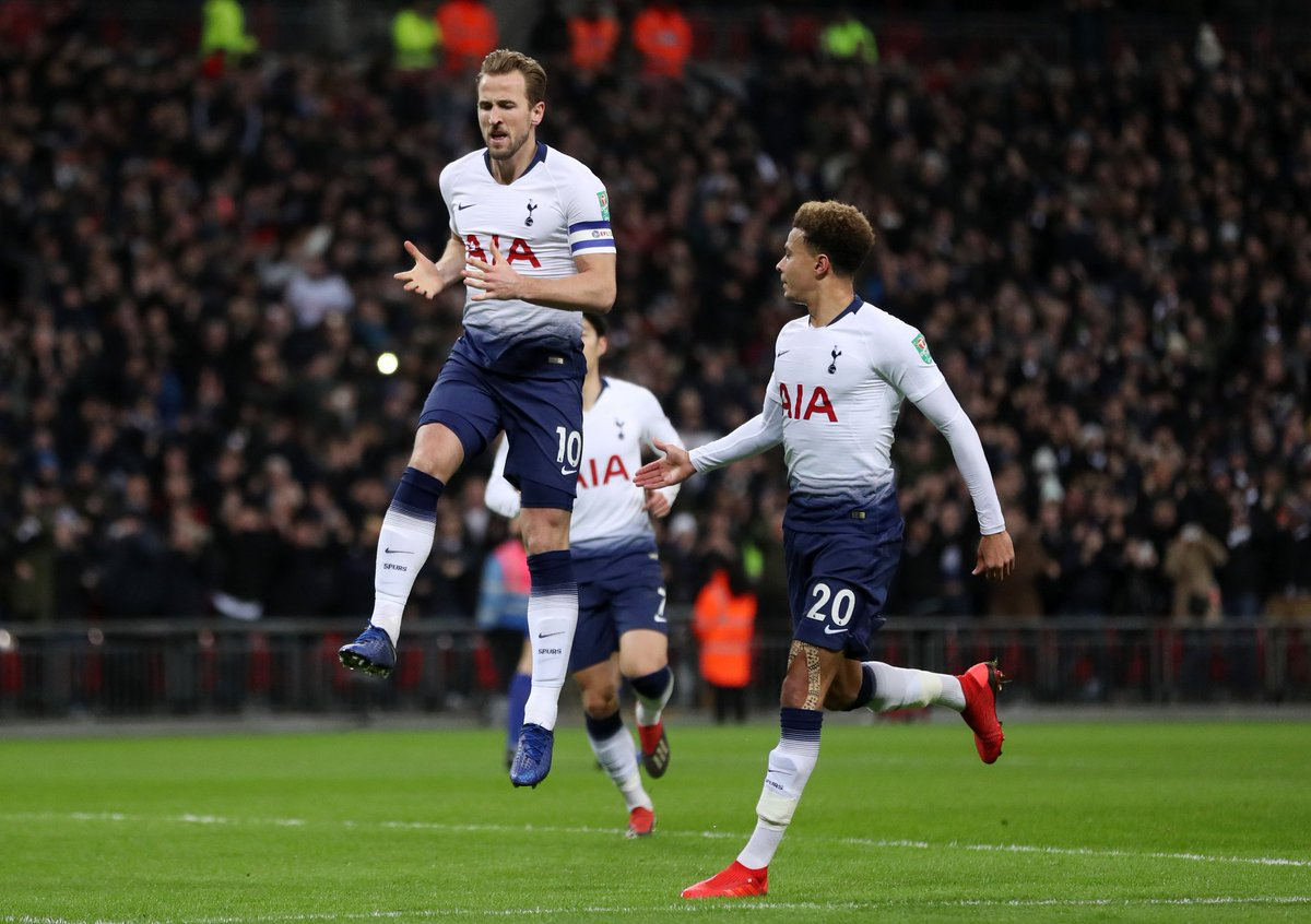 Half the job done. #COYS #THFC