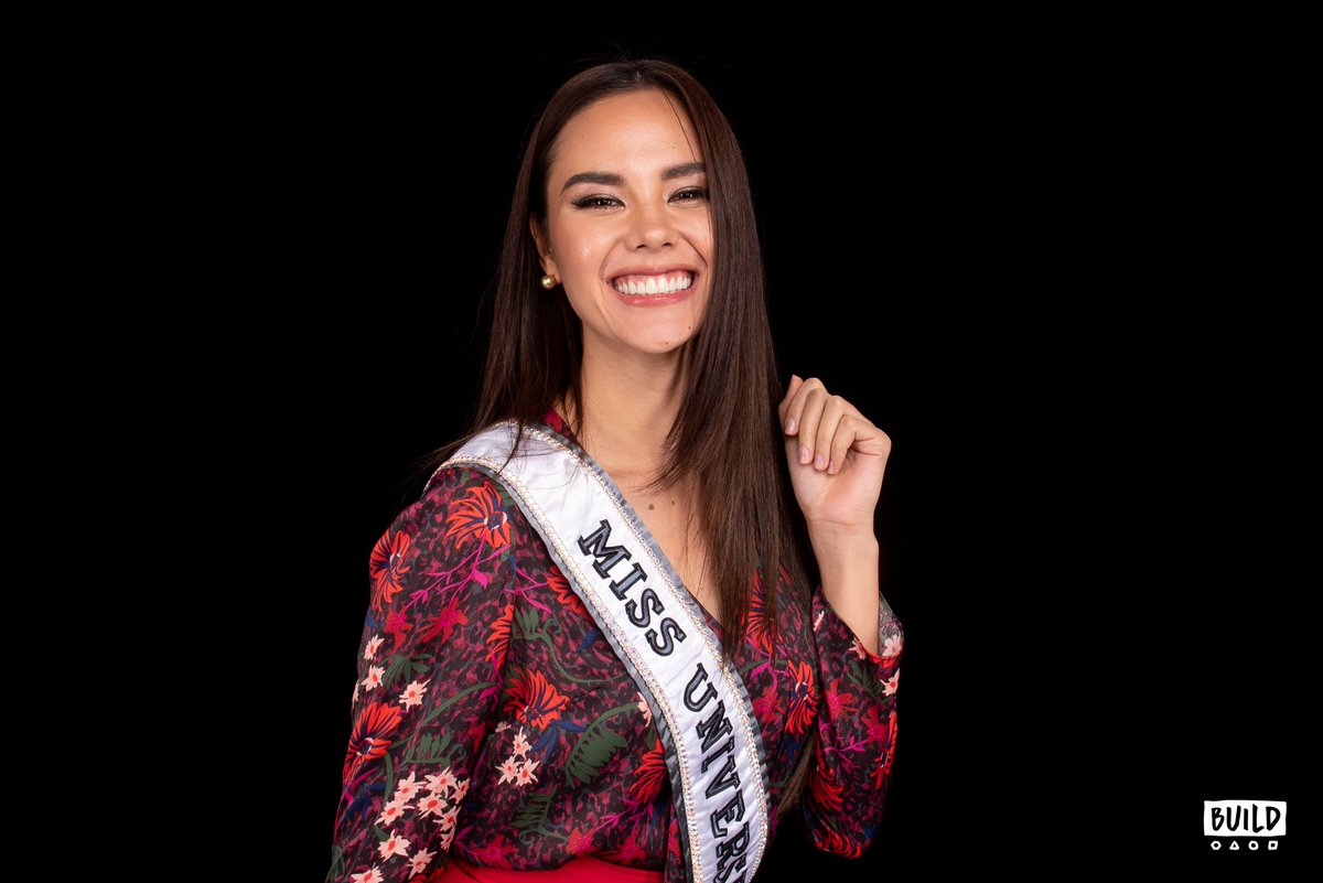 #MissUniverse @catrionaelisa stopped by the studio to talk how life has changed since she nabbed the crown! 👑 Watch it here: http://build.nyc/catriona.