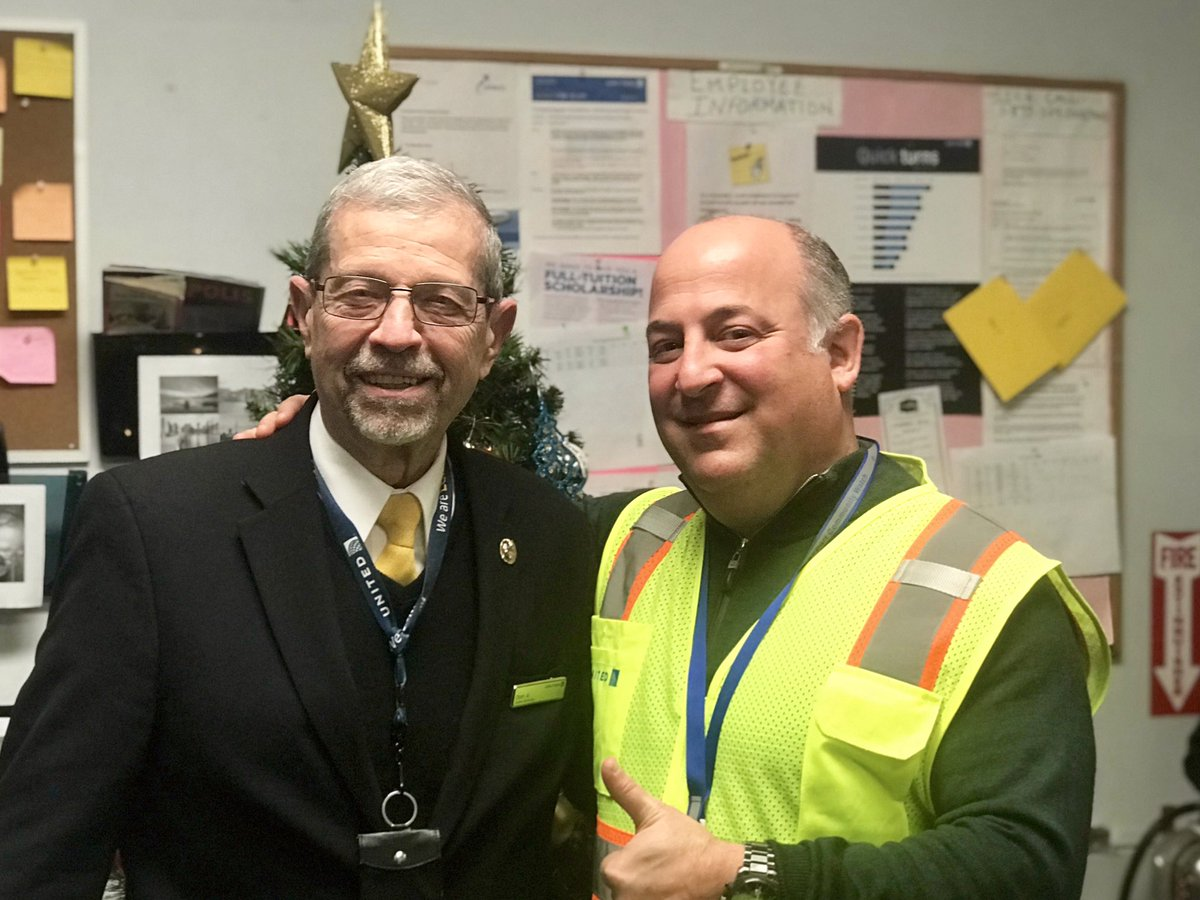 This young man has over 55 years with our airline - Don Arnoni, LGA CSR. Amazing loyalty from an amazing guy! @weareunited #BeingUnited #WhyILoveAO