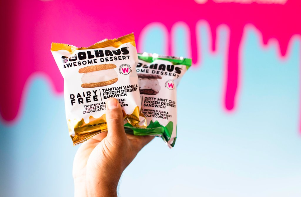 Dairy-Free Sammies?! HECK YES! Come try them at the Culver City Scoop Shop NOW! #Coolhaus