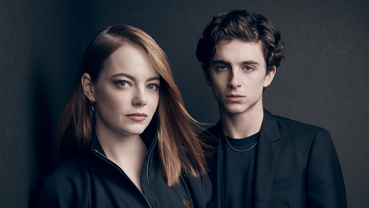 Emma Stone and Timothee Chalamet&#39;s #ActorsOnActors conversation airs tonight on @PBSSoCal at 7:30pm  https:// bit.ly/2QyvFe9  &nbsp;  <br>http://pic.twitter.com/nAI6r2dQvw