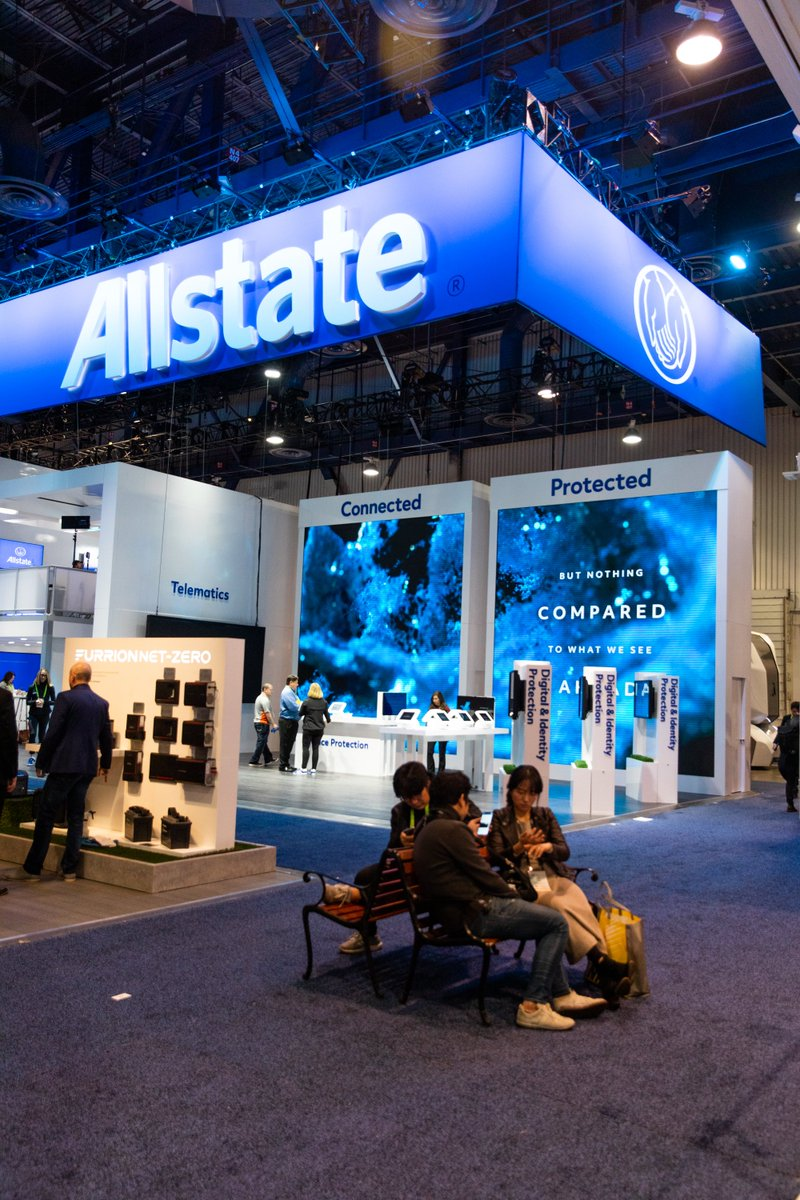 allstate wants to help customers protect their digitalfootprint visit the allstate booth ces 7928 through friday january 11th to learn more