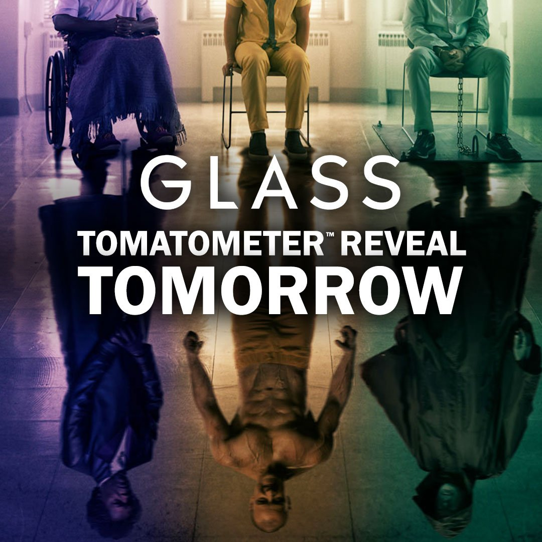 Check back tomorrow after 1:30pm PST for the first #Tomatometer score for #GlassMovie