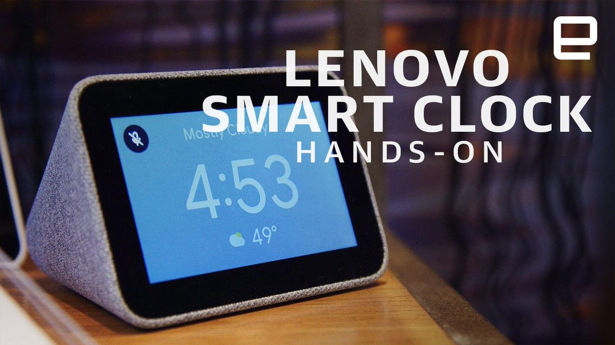 Lenovo's new Smart Clock brings Google Assistant to your nightstand: