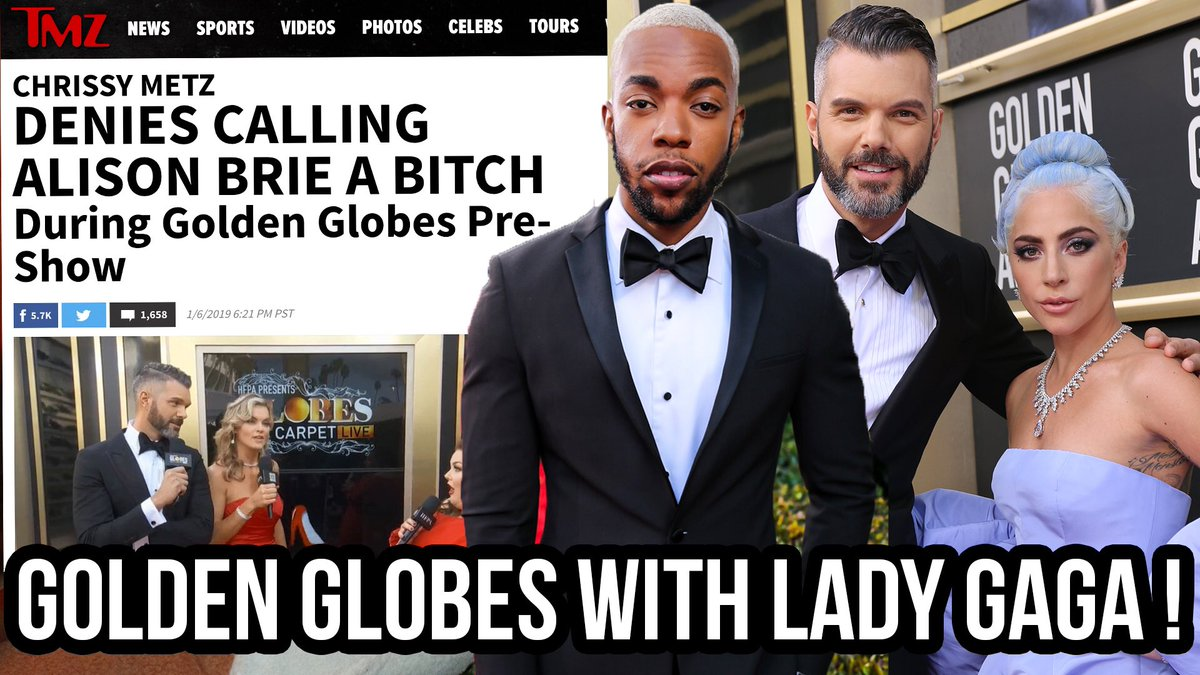 My boyfriend @EmileEnnisJr documented our incredible day at The @GoldenGlobes & the video is SO FUN! 😝  Please WATCH, COMMENT, SUBSCRIBE & SHARE! 🙏🏼  #GoldenGlobes #LadyGaga   WATCH HERE—> https://youtu.be/jpZ_Fbg9ut0