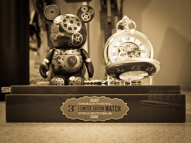 "How cute can a Steampunk gadget get? Our pic of the day is ""Steampunk Vinylmation"", by Josh Hallett. Enjoy!! #steampunk #steampunkgadgets #steampunkcartoons #cute #innovation #picoftheday"