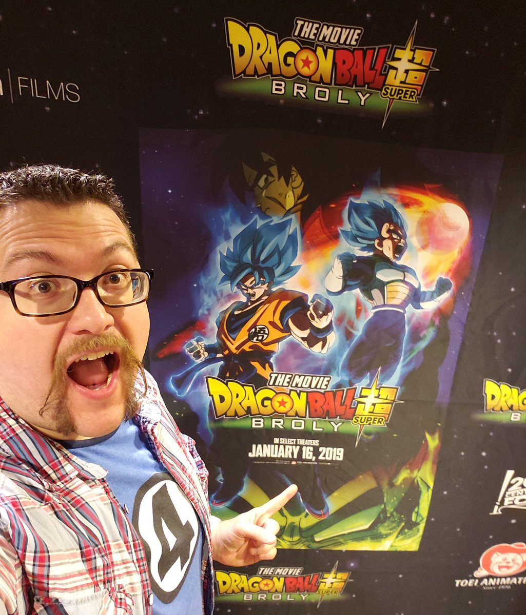 Thanks @FUNimation & @SONICBOOMB0X for the #DBSuperBroly NYC screening!