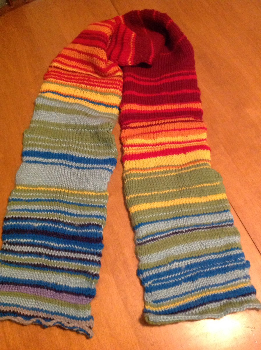 Dave Lanovaz On Twitter Temperature Scarf For 2018 Is Done One