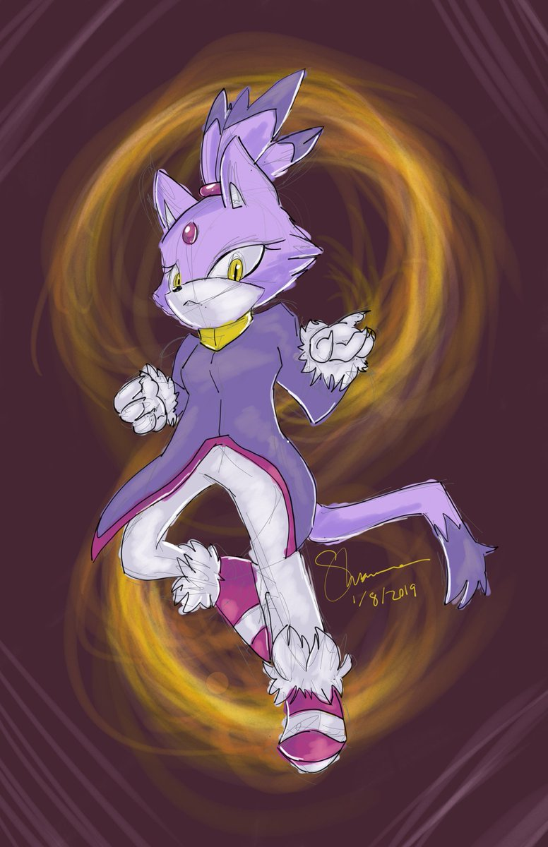 Yo that Sonic Rush run was straight flames #AGDQ2019 #GamesDrawnQuick <br>http://pic.twitter.com/vsW7yH0ve2