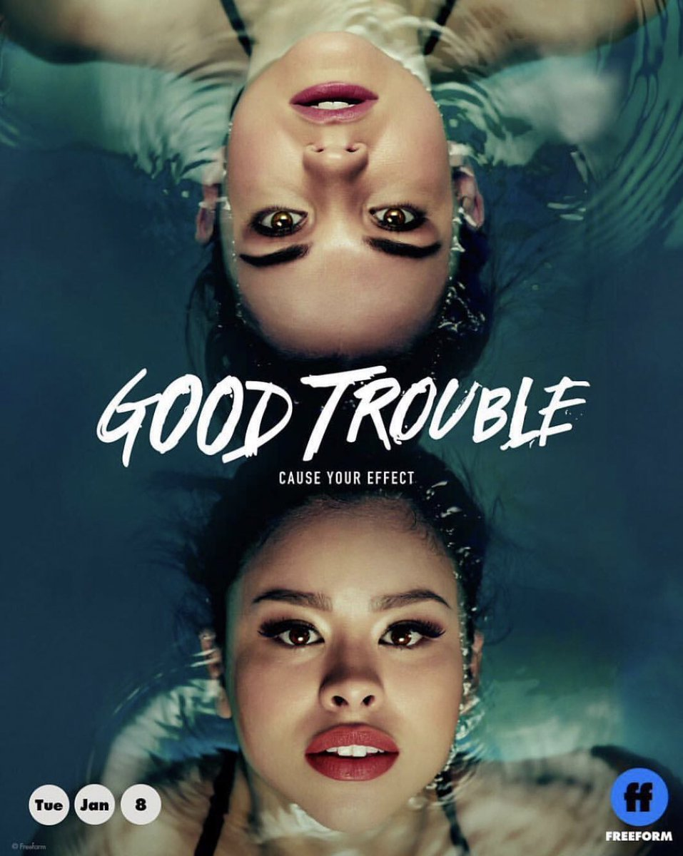 Let me know what you think of the show! #GoodTrouble comment beloooow🥰🥰🥰 https://t.co/A7se0hkiLI
