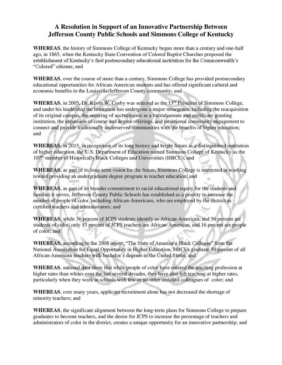 Here is a copy of the resolution: