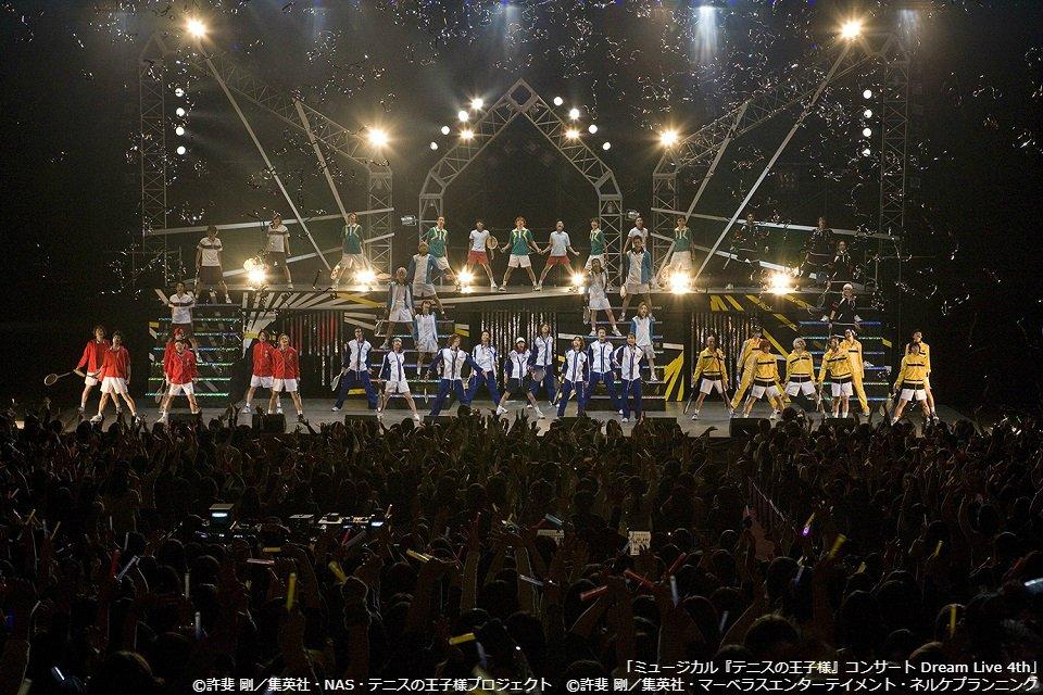 「ミュージカル『テニスの王子様』コンサート Dream Live 4th」 1/9(水)よる9:00