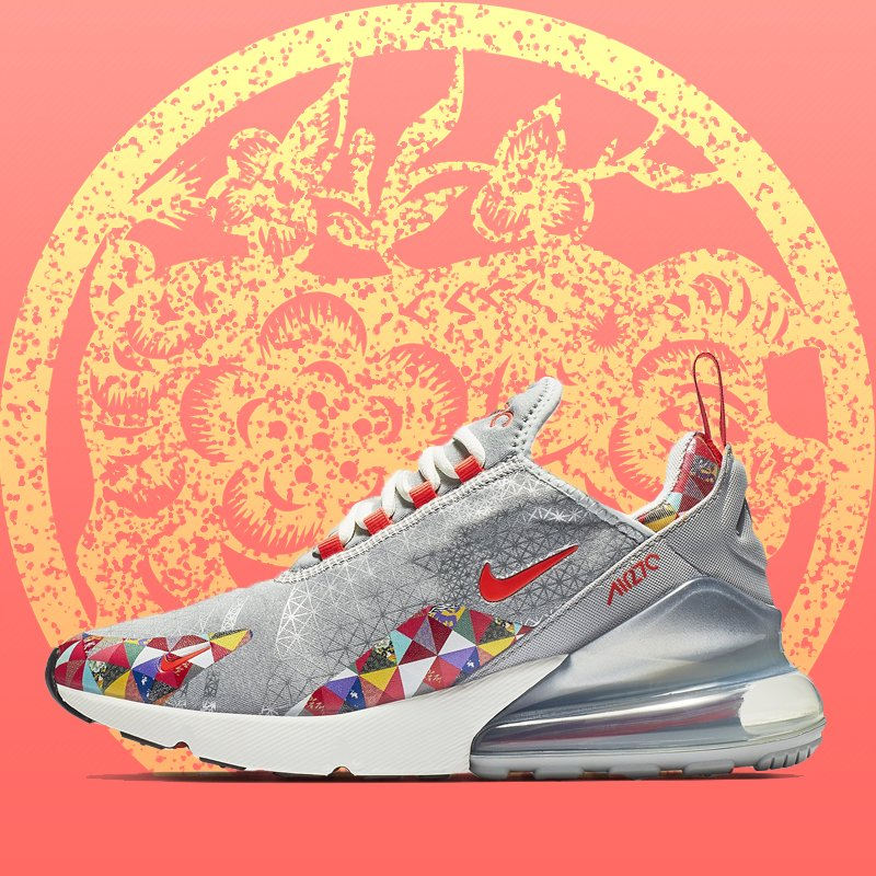 on sale 07e6a e044d Nike Wmns Air Max 270 - Chinese New Year (BV6654-059) USD ...