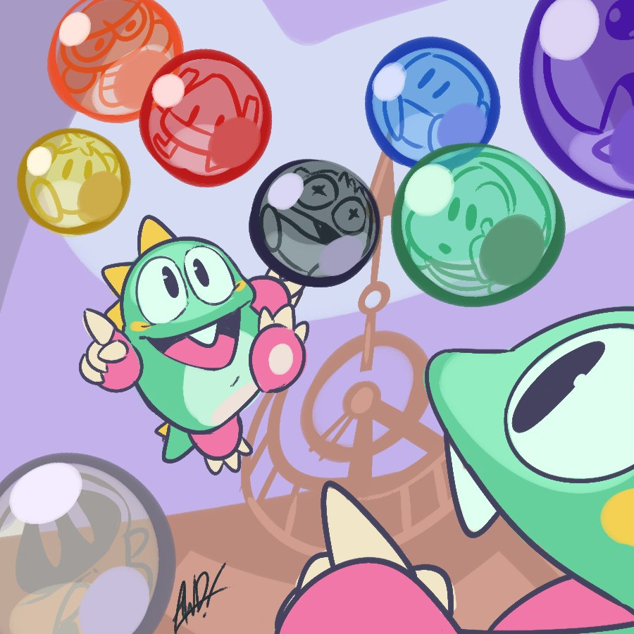 Puzzle Bobble #AGDQ2019 @GamesDoneQuick #GamesDrawnQuick<br>http://pic.twitter.com/3zS1izxWjR