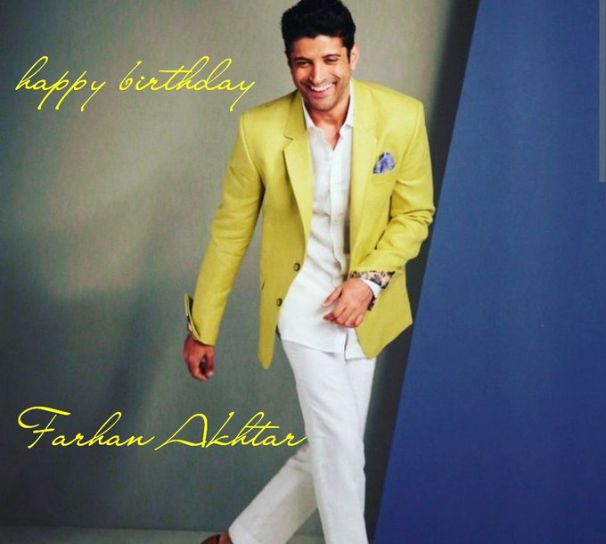 Happy birthday to most astounding talent of bollywood....      akhtar birthday
