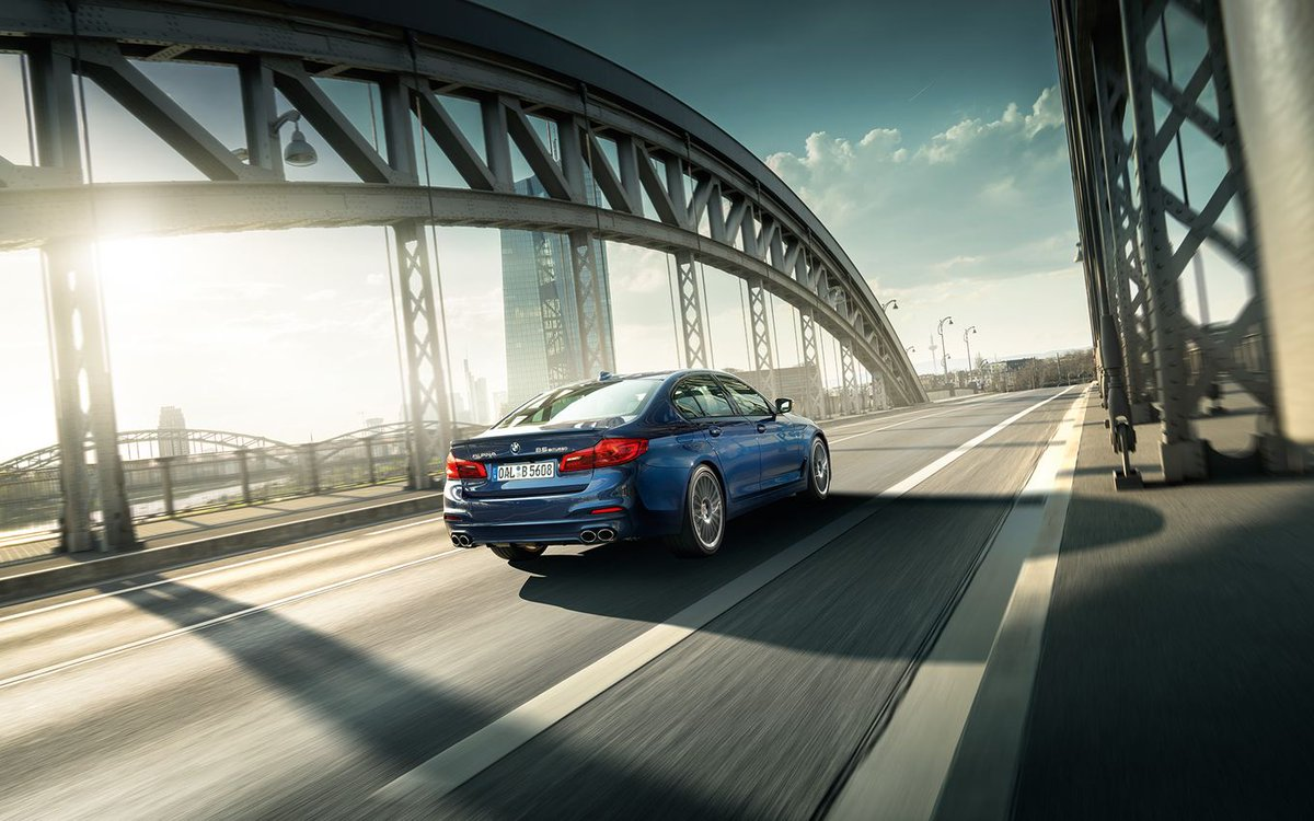 """Five Best Cars of 2018 - Jeremy Clarkson votes the brilliant BMW ALPINA B5 Bi-Turbo into his best of list, stating that """"It really does feel as close to perfect as any car can be."""" https://bit.ly/2AEDeH9"""