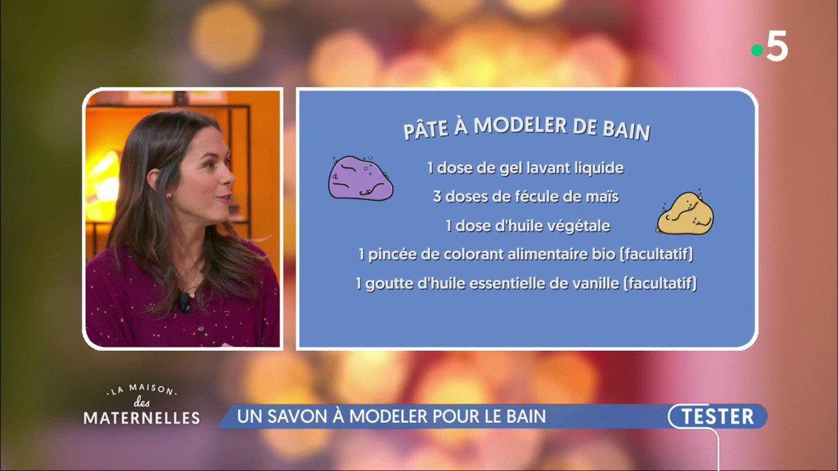 """Pate A Modeler Pour Le Bain la maison des maternelles on twitter: """"#diy : fabriquez"""
