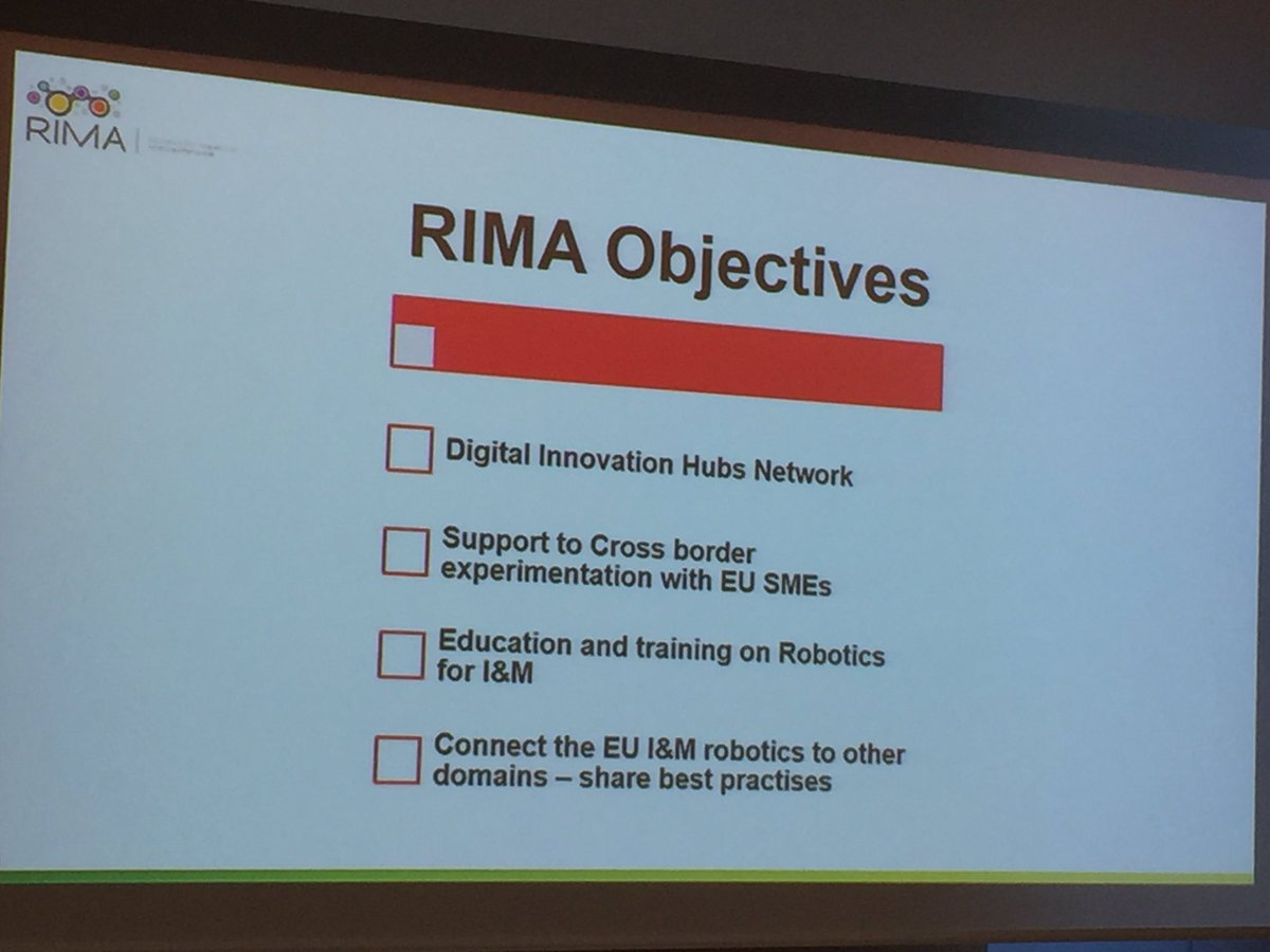 Thierry Louvet On Twitter Kick Off Meeting Of European DIH RIMA Project