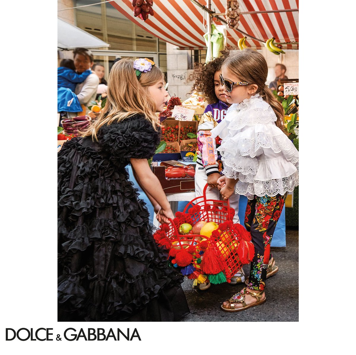 The Dolce&Gabbana Children's Spring Summer 2019 Advertising Campaign.  #DGBambino #DGSS19