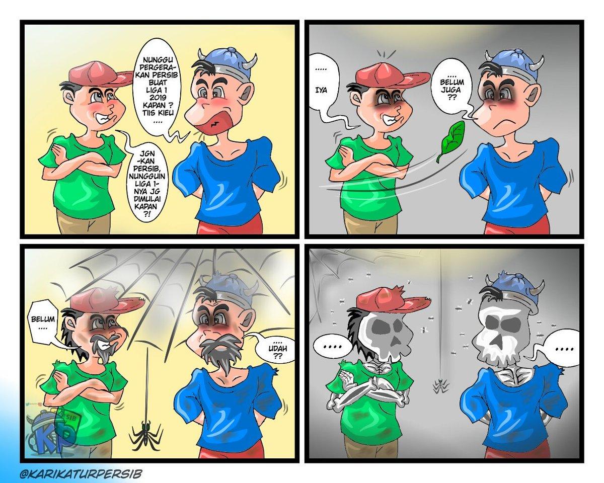 Persib On Caricature At Karikaturpersib Twitter