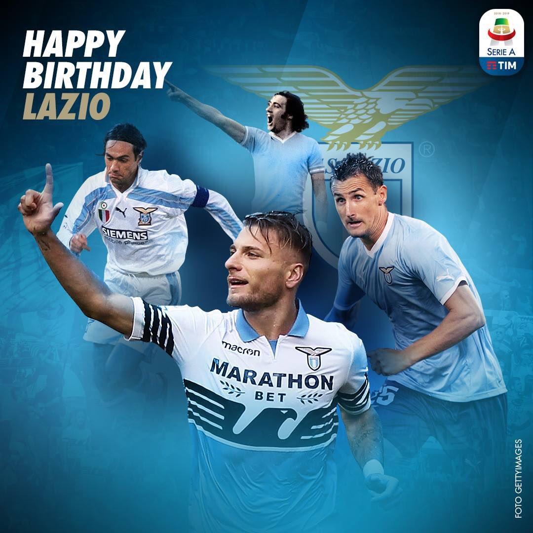 Buon 119 Compleanno @OfficialSSLazio   #LaPrimaSquadraDellaCapitale  #ForzaLazio #LazioIndonesia #LazialeSamarinda  #NonMollareMai