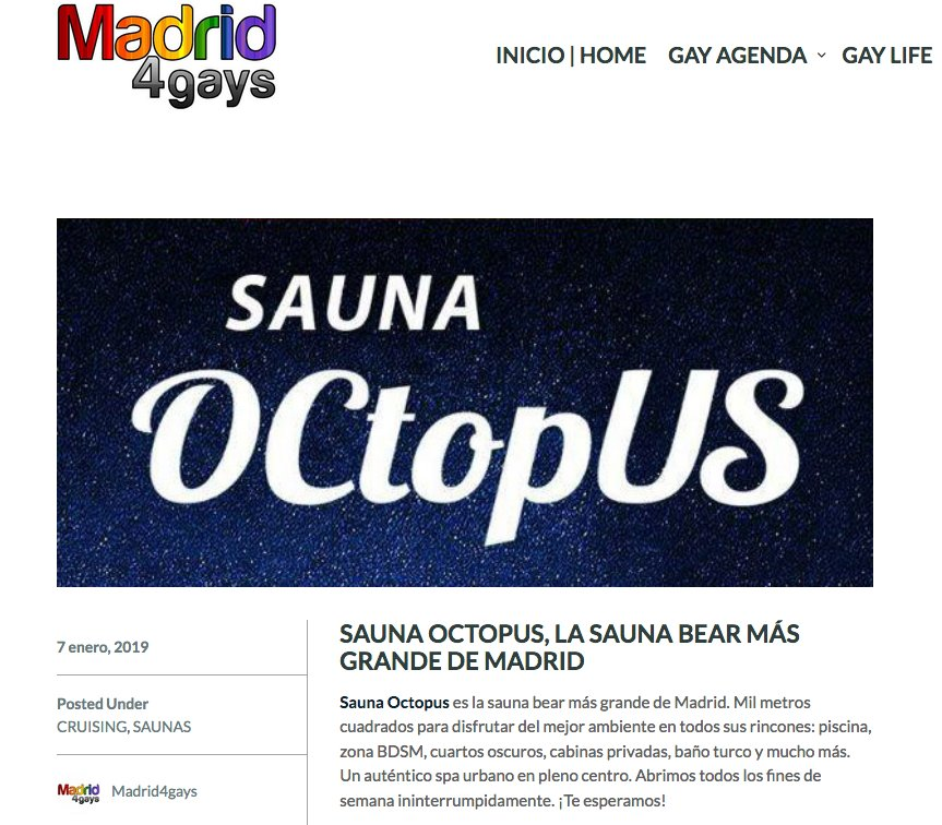 Sauna Octopus on Twitter: \