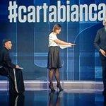 #Cartabianca Twitter Photo