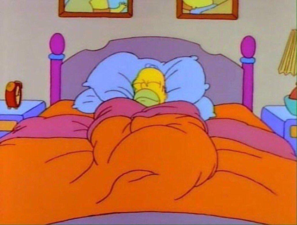 Гомер спит картинка