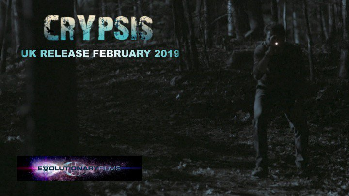 What would you do if the only thing between you and a horrifying monster was a camera? Crypsis, coming soon. #Crypsisiscoming #UKRelease #Horror #HorrorMovie #MonsterInTheWoods #CreatureFeature #MonsterMovie #Survival #Escape #CampingTrip #ItsAlwaysWatching #EvolutionaryFilms