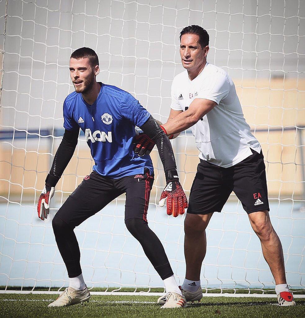 Training camp 😄☀️ #Dubai #MUFC