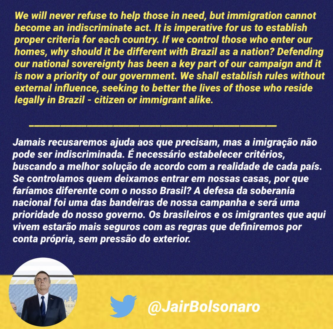 Bolsonaro threatens to withdraw Brazil from UN migration pact