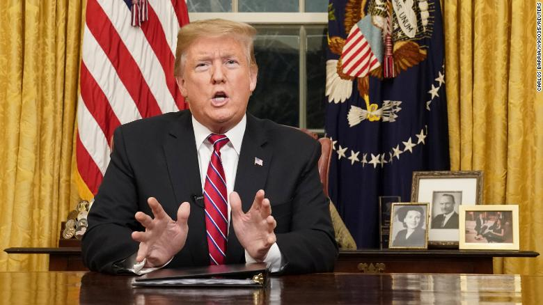 Scripted Trump does little to convince skeptics on border wall   Analysis by @StCollinson https://t.co/tPnu082GGo https://t.co/VN1xSTyVSy