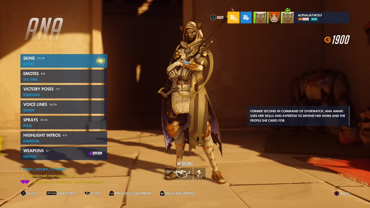 """Ana Emotes xbox on twitter: """"is it safe to say ana has some of the best"""