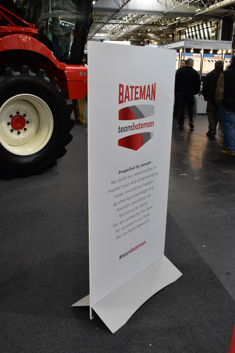 We've really enjoyed the @LAMMAShow - great attendance and a fabulous atmosphere. Do pay us a visit us in Hall 11 if you're at @thenec to see all our latest crop sprayer tech onsite. Not attending? Then click onto https://www.batemansprayers.com
