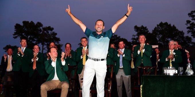 15 European Tour wins 10 PGA Tour wins 2017 Masters Champion  Happy birthday Sergio Garcia!
