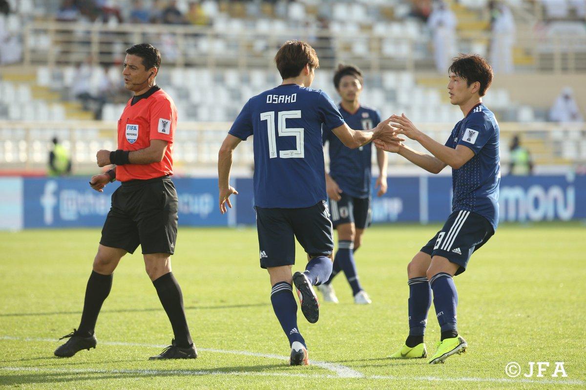 2得点を挙げた #大迫勇也 選手🦌 今年も #半端ない 男は健在!  #AsianCup2019 #アジアカップ #SAMURAIBLUE #daihyo #Jリーグ