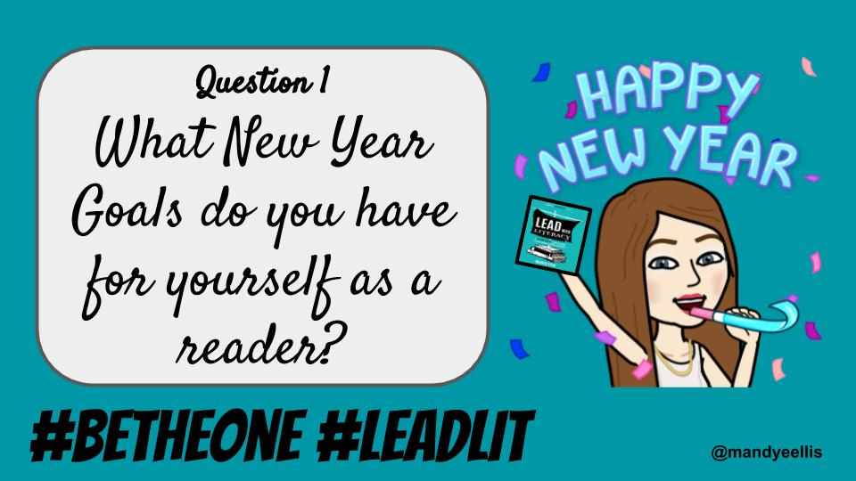 Question 1 is here. Be sure to tag your tweets with #BeTheOne and #LeadLIT @sheehyrw