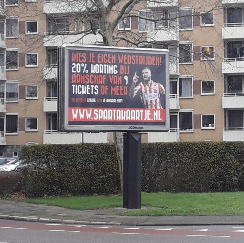Sparta Rotterdam On Twitter Heb Jij Deze Billboards Al Gezien In