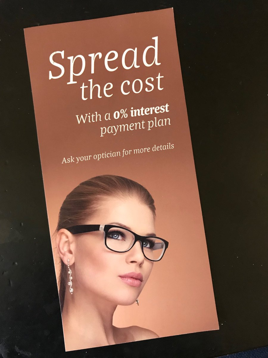 2d9679903ee  DidYouKnow we offer  directdebit payment options for your glasses  Ask  instore for details.pic.twitter.com jdoyUr8ZMy