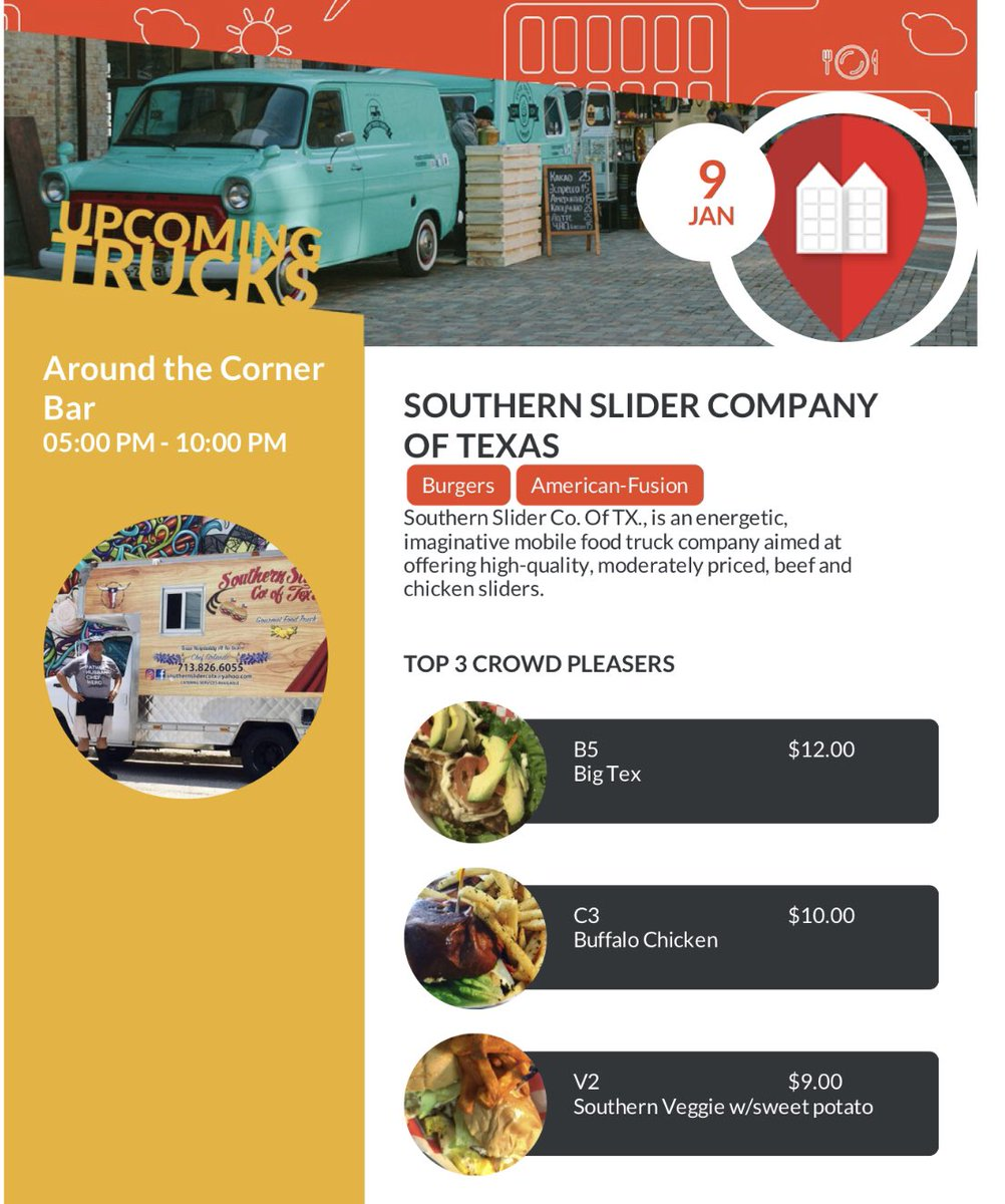 0d8e6980e77032 Make plans to come tonight have some  sliders  foodtruckspaces   southernslidercompanyoftexas pic.twitter.com s9a4F3fAZq
