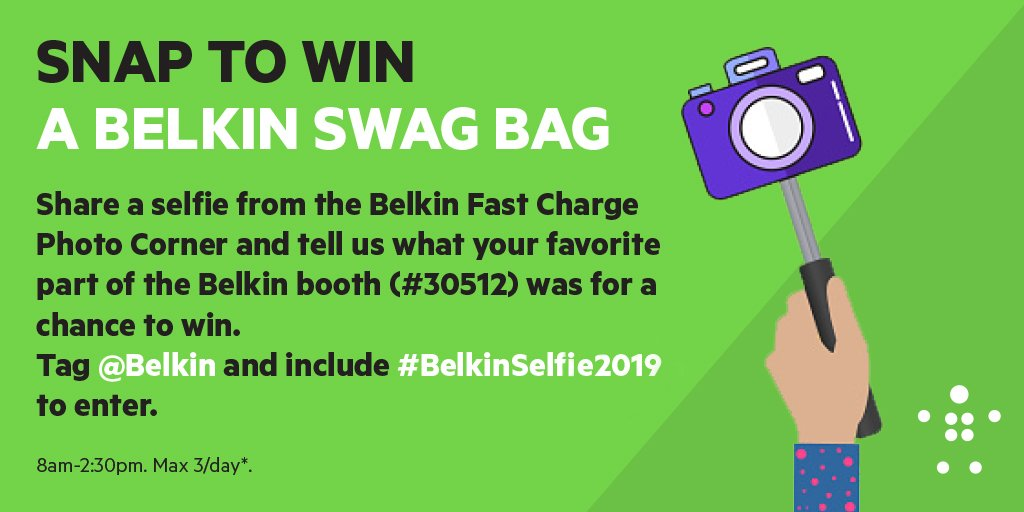 #CES2019! Last day to stop our booth for a chance to win.