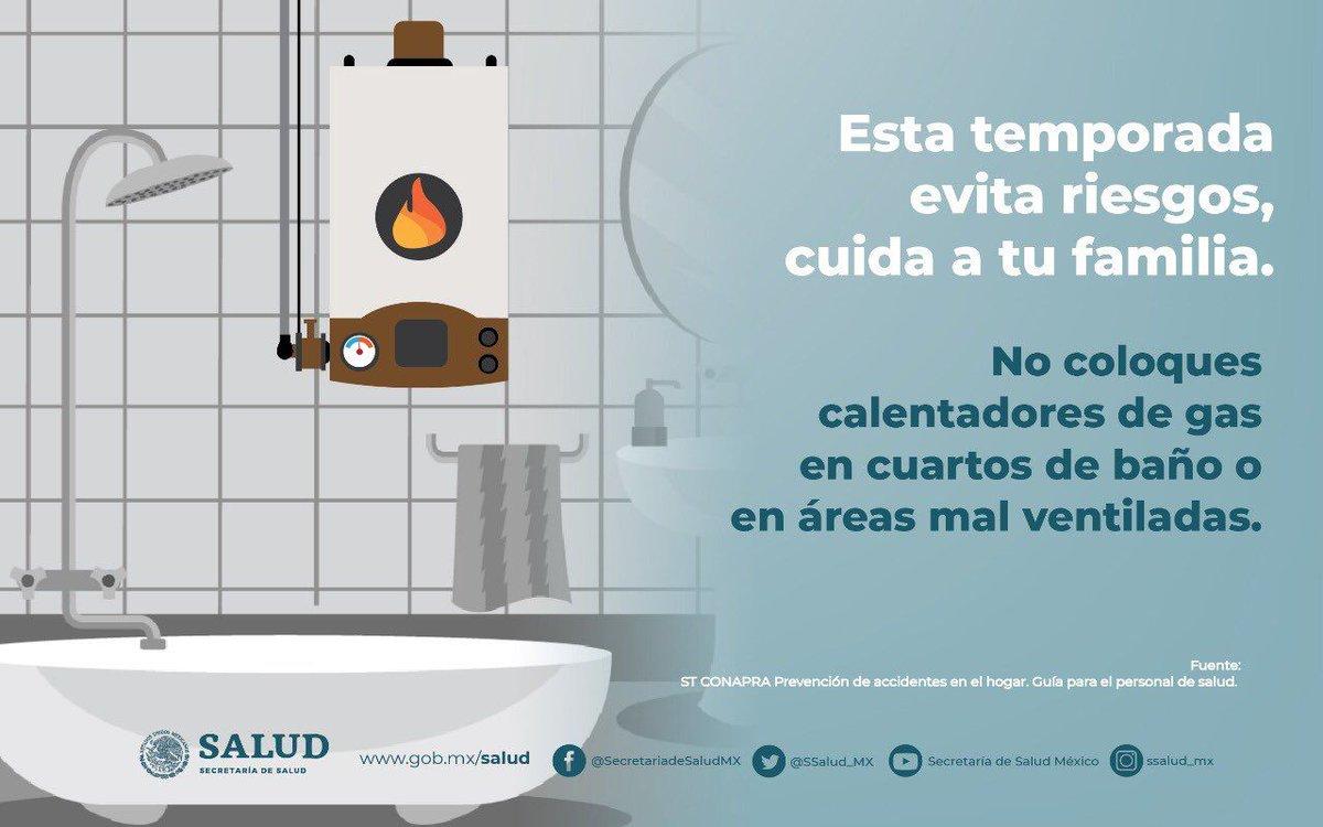 Calentadores Para Cuartos De Bano.Promocion De La Salud Sesa Tlaxcala On Twitter No Coloques