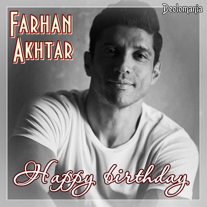 Wishin\ a very happy birthday to multitalented Farhan Akhtar!