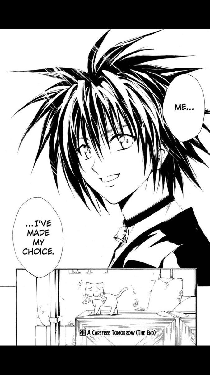 Image result for black cat manga I've made my choice