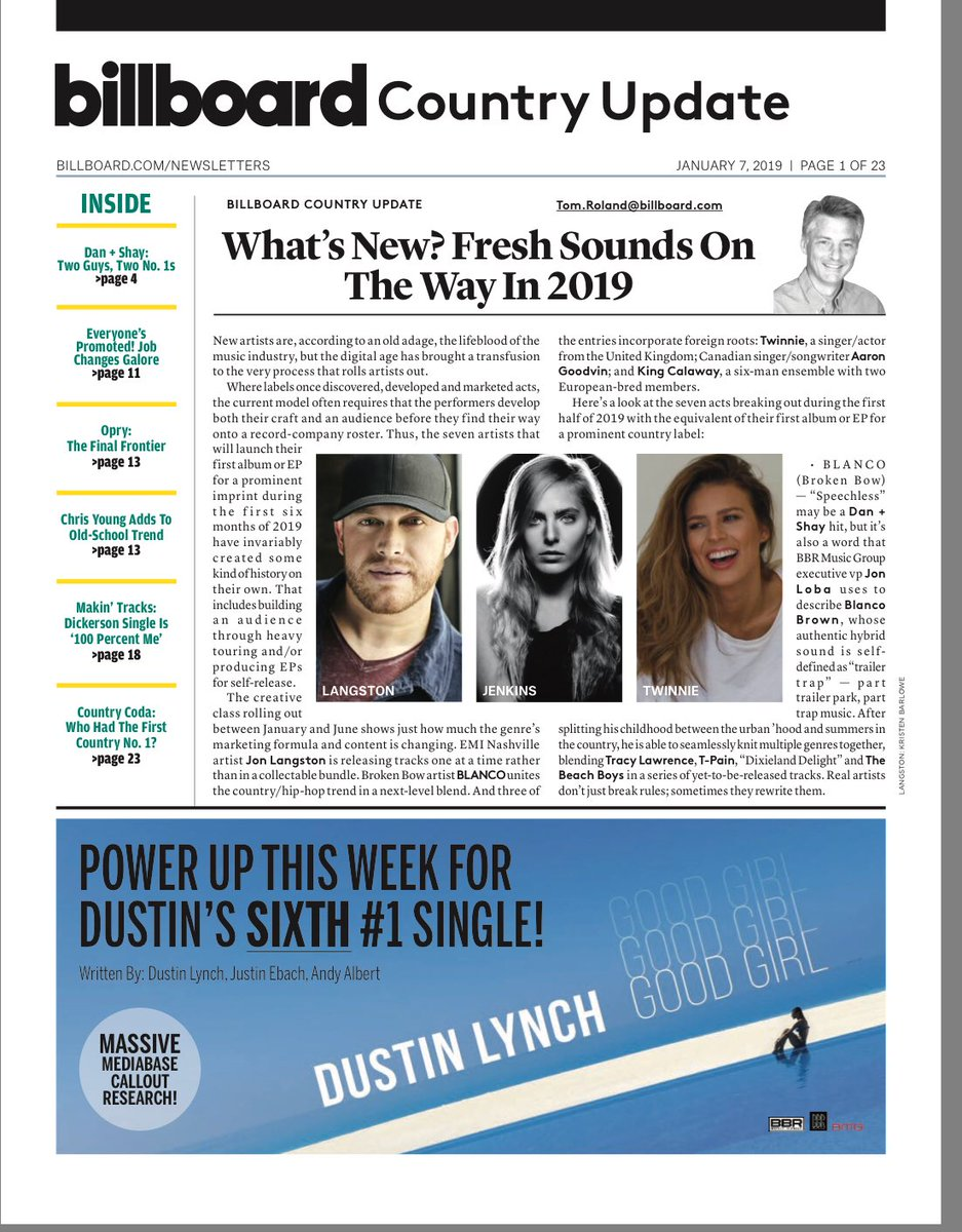 Thank you @billboard for including me in the ones to breakout in 2019! We're ready!! 👊🏼