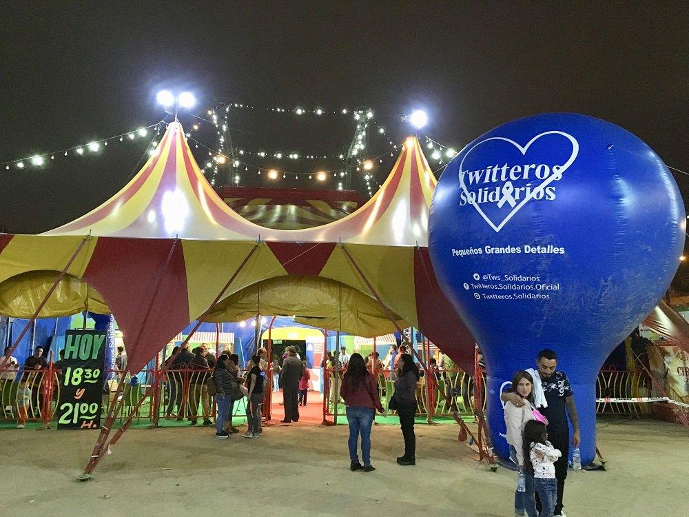Al circo para ayudar a damnificados por incendios en Limache