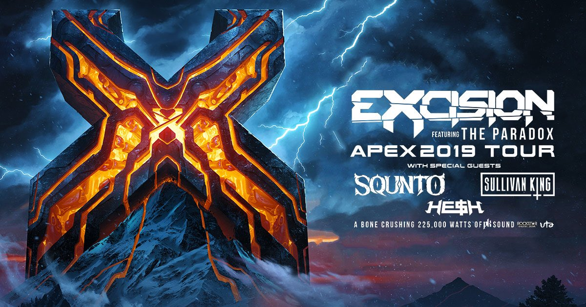 SAN ANTONIO!!! Don't think we forgot about you!! RT for a chance to win a pair of tickets to @Excision at The Aztec Theater!! •Tickets: http://concerts.livenation.com/event/3A00554CD68863EE…